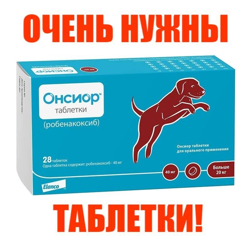 Онсиор для собак