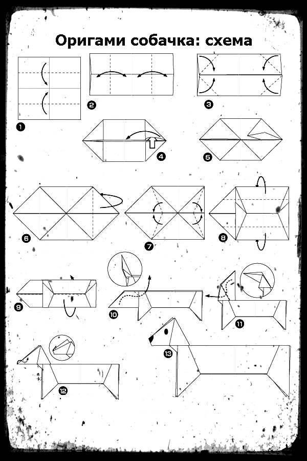 Модульное оригами «совенок». пошаговая инструкция с фото