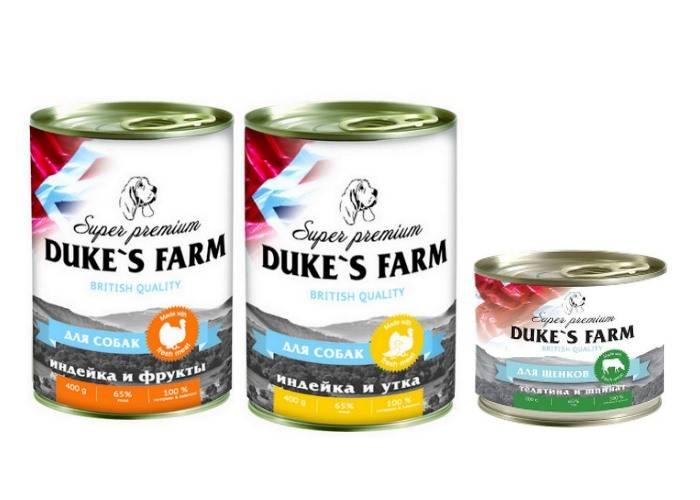 Duke's farm kitten fresh duck - рейтинг, обзор корма, сравнение и анализ duke's farm kitten fresh duck, состав и описание корма, плюсы и минусы duke's farm kitten fresh duck, отзывы о корме, характеристика и дозировка