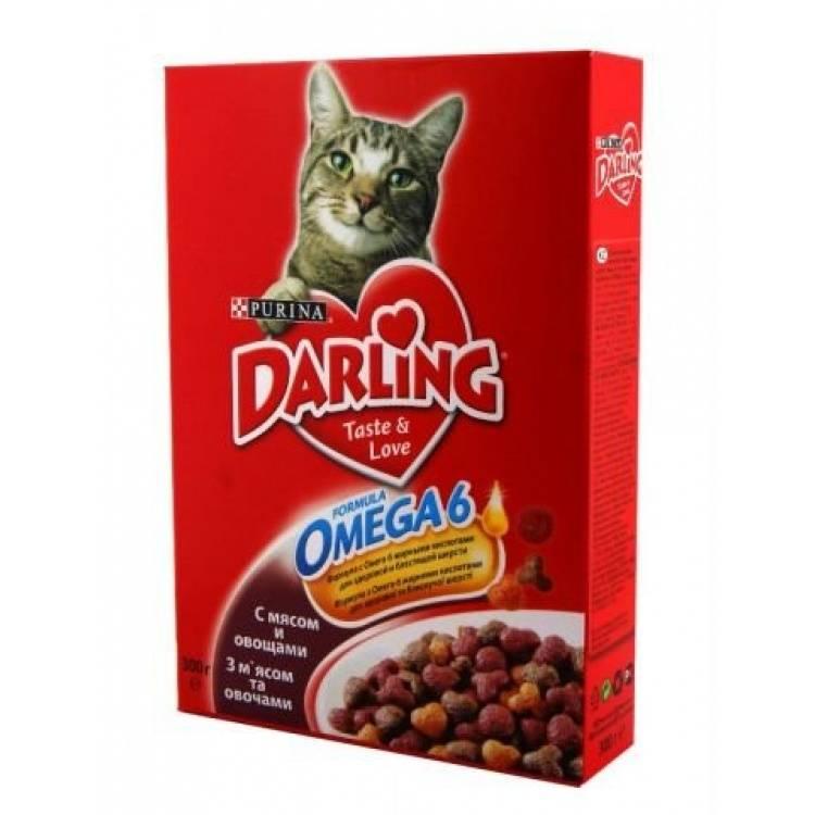 Корм дарлинг для кошек: отзывы, где купить, состав