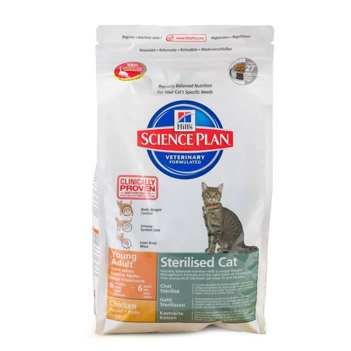 Hill's (хилс) — ветеринарный корм для кошек, состав, отзывы ветеринаров