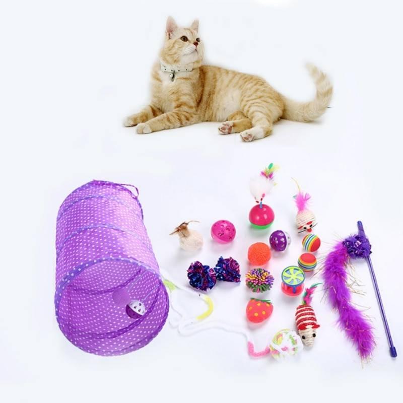 Игрушки для кошек своими руками: как сделать головоломки, дразнилки, погремушки