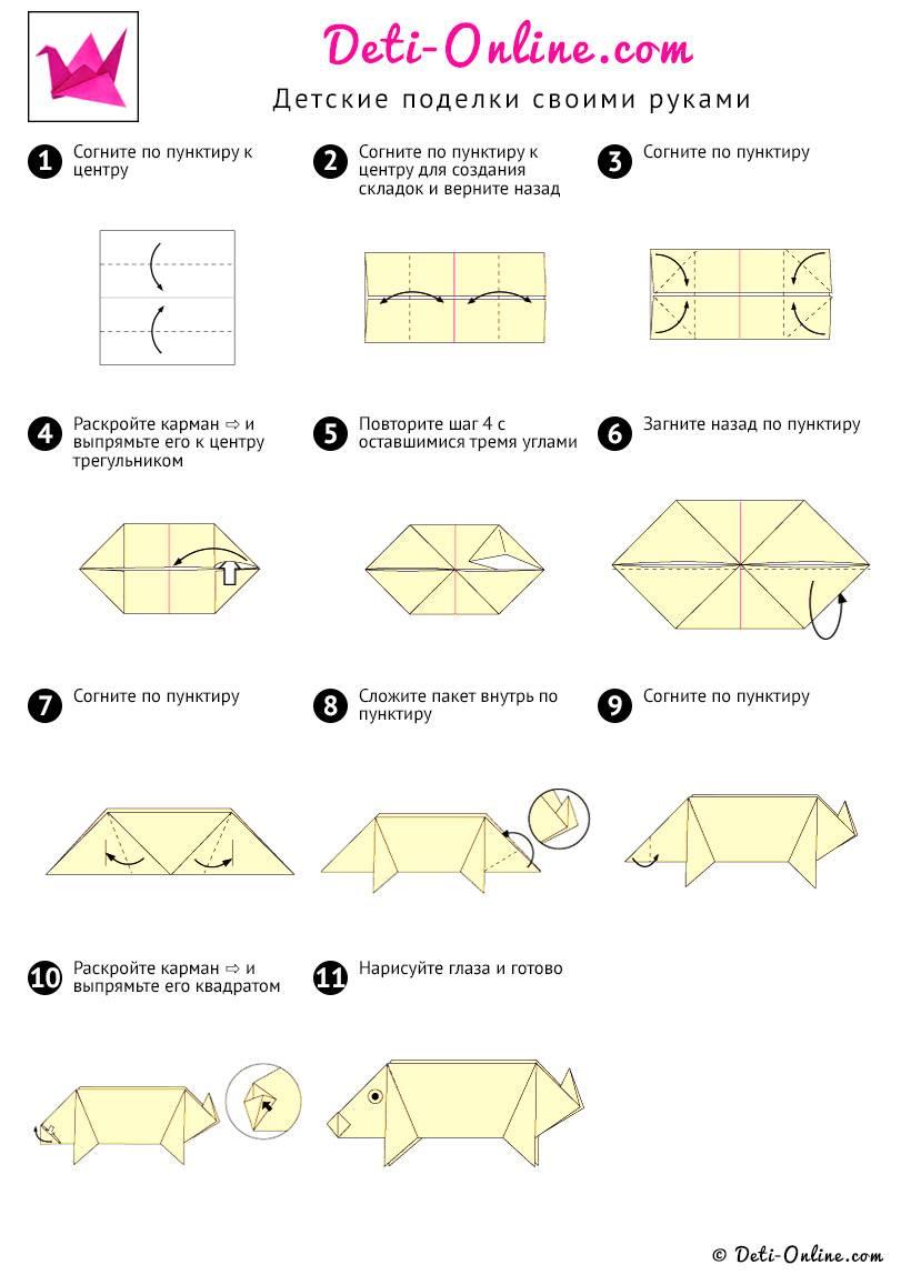 Модульное оригами: пошаговый мастер-класс создания поделок и описание техники