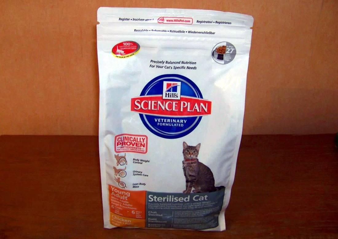 Корма hill's для кошек: виды, состав, описание, цена