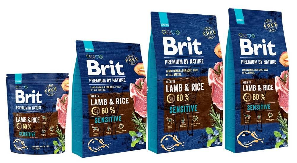 Brit premium dog lamb & rice - рейтинг, обзор корма, сравнение и анализ brit premium dog lamb & rice, состав и описание корма, плюсы и минусы brit premium dog lamb & rice, отзывы о корме, характеристика и дозировка