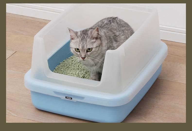 10 лучших закрытых туалетов для кошек - рейтинг 2021