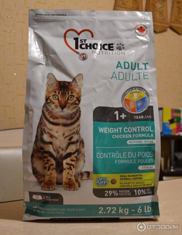 Корм 1st choice (фест чойс) для кошек: отзывы, где купить, состав