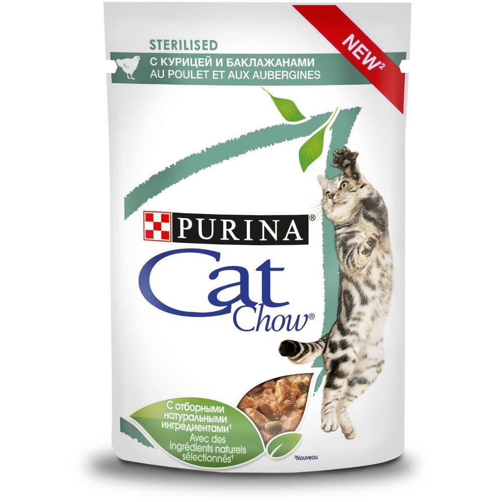 Корм для кошек кэт чау (cat chow) - отзывы и советы ветеринаров, цена