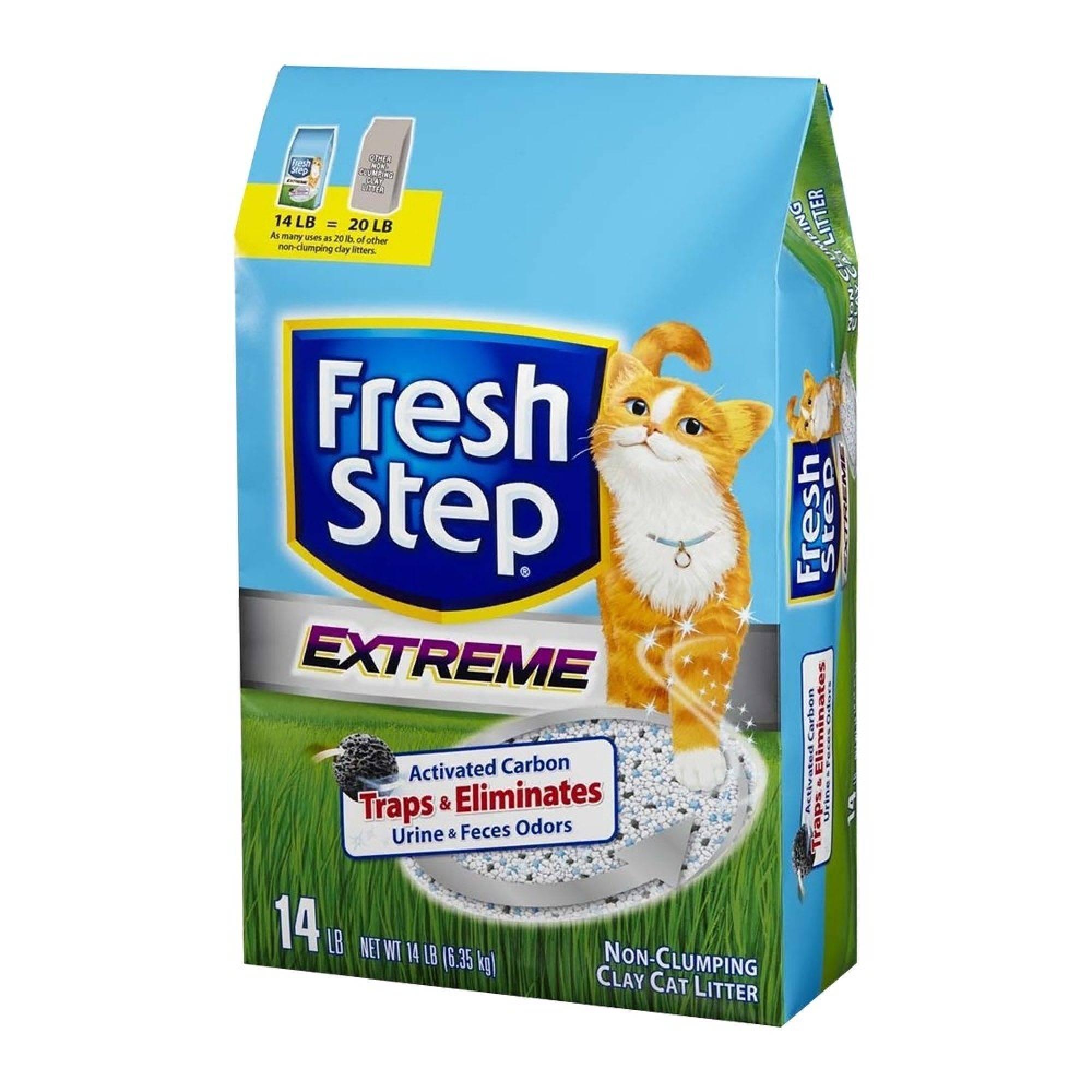 Наполнитель для кошачьего туалета fresh step: преимущества выбора.