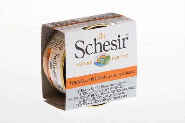 Корм для кошек schesir adult cat chicken