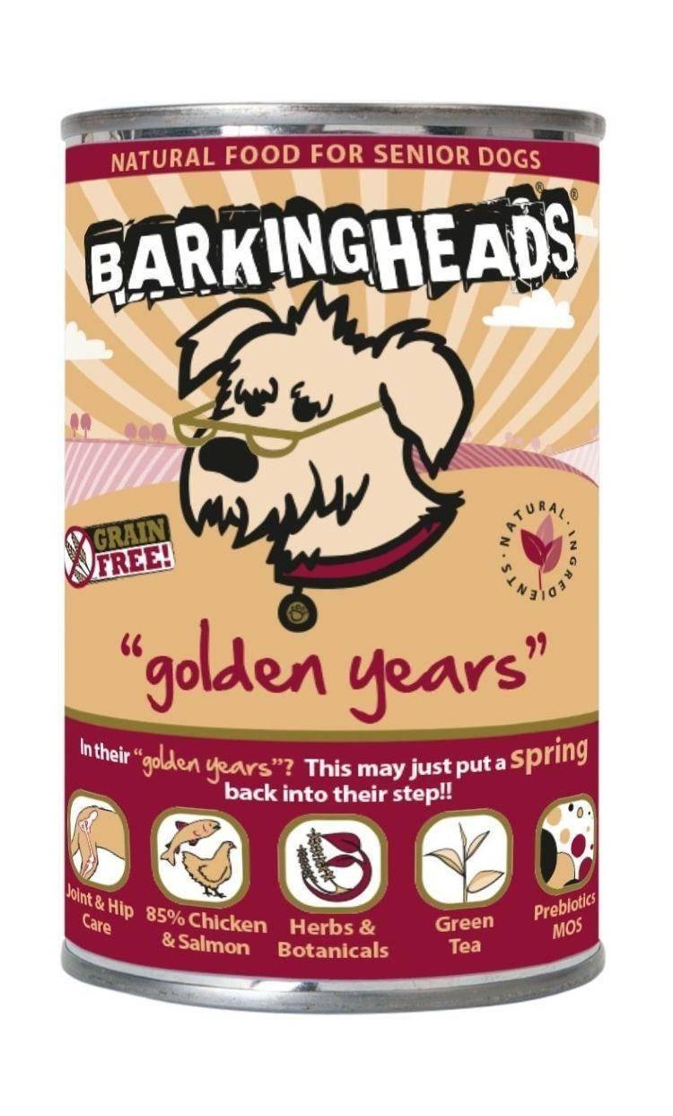 Анализ корма для собак barking heads