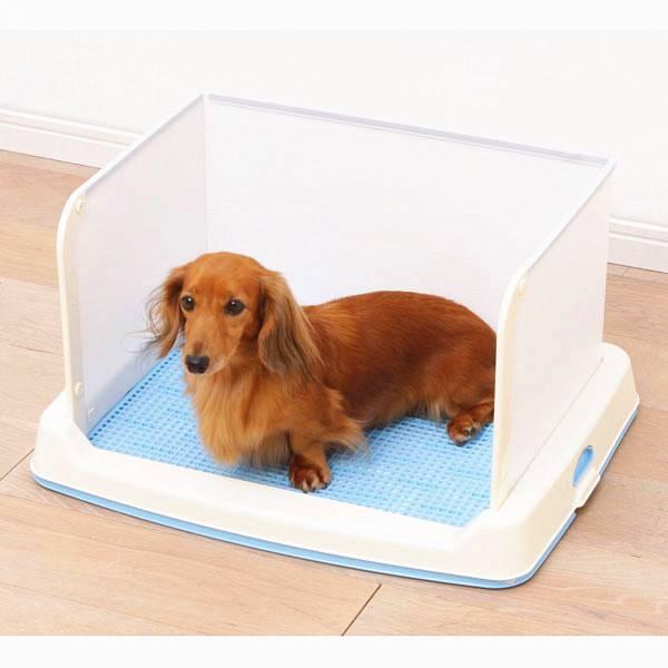 Туалет для собак мелких пород: как выбрать | со столбиком для маленьких, отзывы
