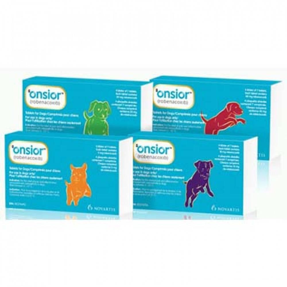 Противовоспалительный и болеутоляющий препарат elanco онсиор для кошек 6мг, 6 таб таблетки