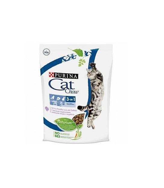 Корм для кошек «кэт чау» (cat chow от purina): отзывы ветеринаров и владельцев животных о нем, его состав и виды, плюсы и минусы
