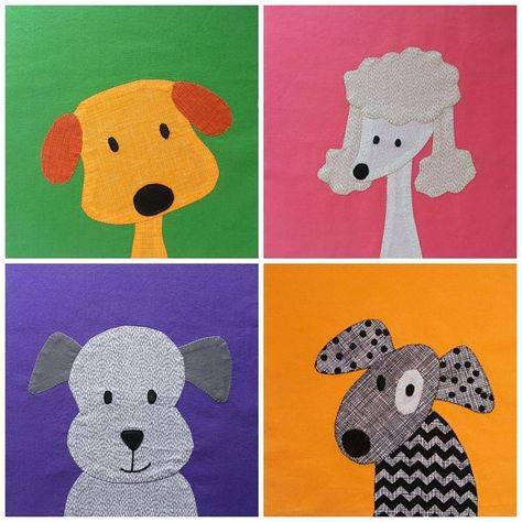 Оригами, квиллинг и аппликация собаки из бумаги и картона в оригинальных идеях и пошаговом мастер классе
