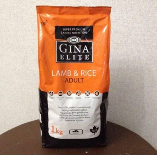 Корм для собак gina (джина): отзыв и обзор состава | «дай лапу»