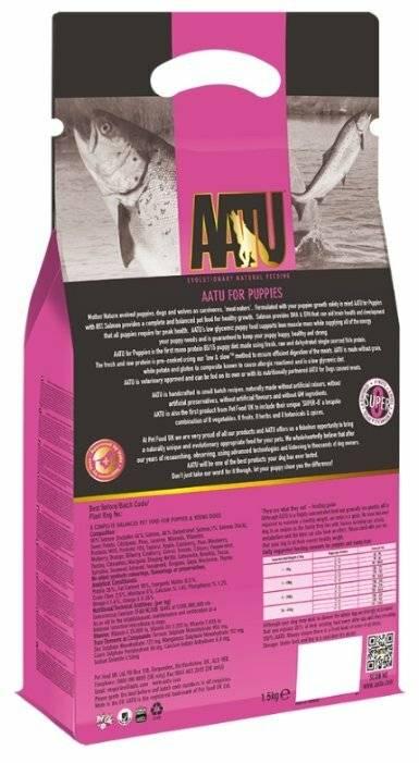 Корм для кошек aatu adult cat free run duck grain free