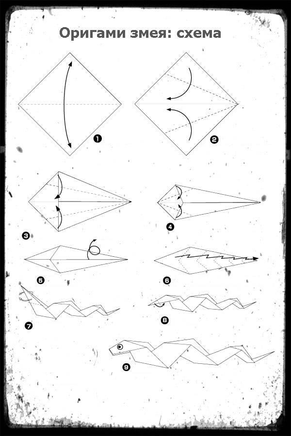 Модульное оригами лисичка. схема сборки пошаговая инструкция с фото
