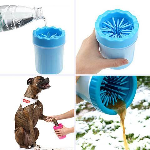 Приспособление для сохранения чистоты в доме после прогулки с четвероногим питомцем — лапомойка для собак: отзывы и виды устройств для удаления грязи с лап животного