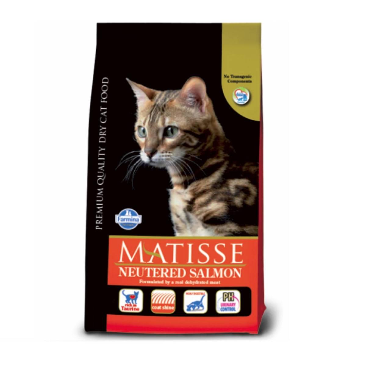 Матисс сухой корм для кошек
