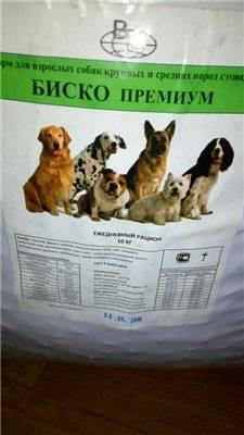 Корм для собак биско - отзывы на i-otzovik.ru
