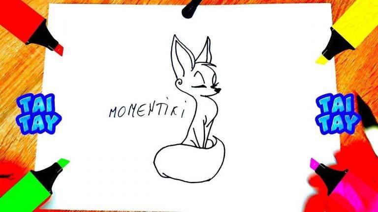 Как нарисовать кота карандашом поэтапно