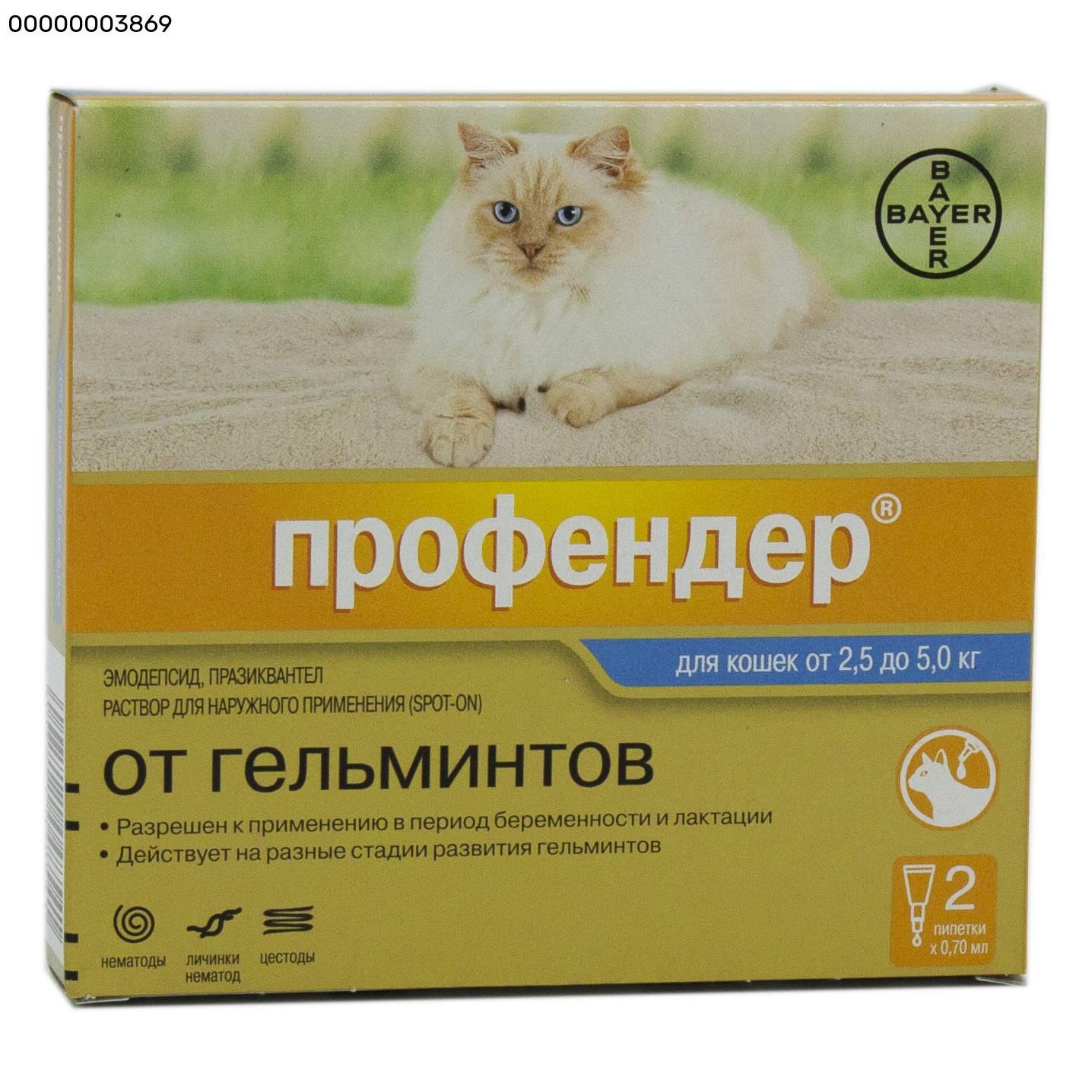 Бродлайн спот-он для кошек – полная защита от паразитов