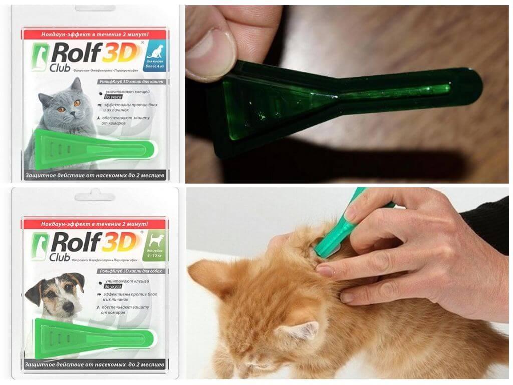 Рольф клуб 3д / rolf club 3d (капли) для собак и кошек | отзывы о применении препаратов для животных от ветеринаров и заводчиков