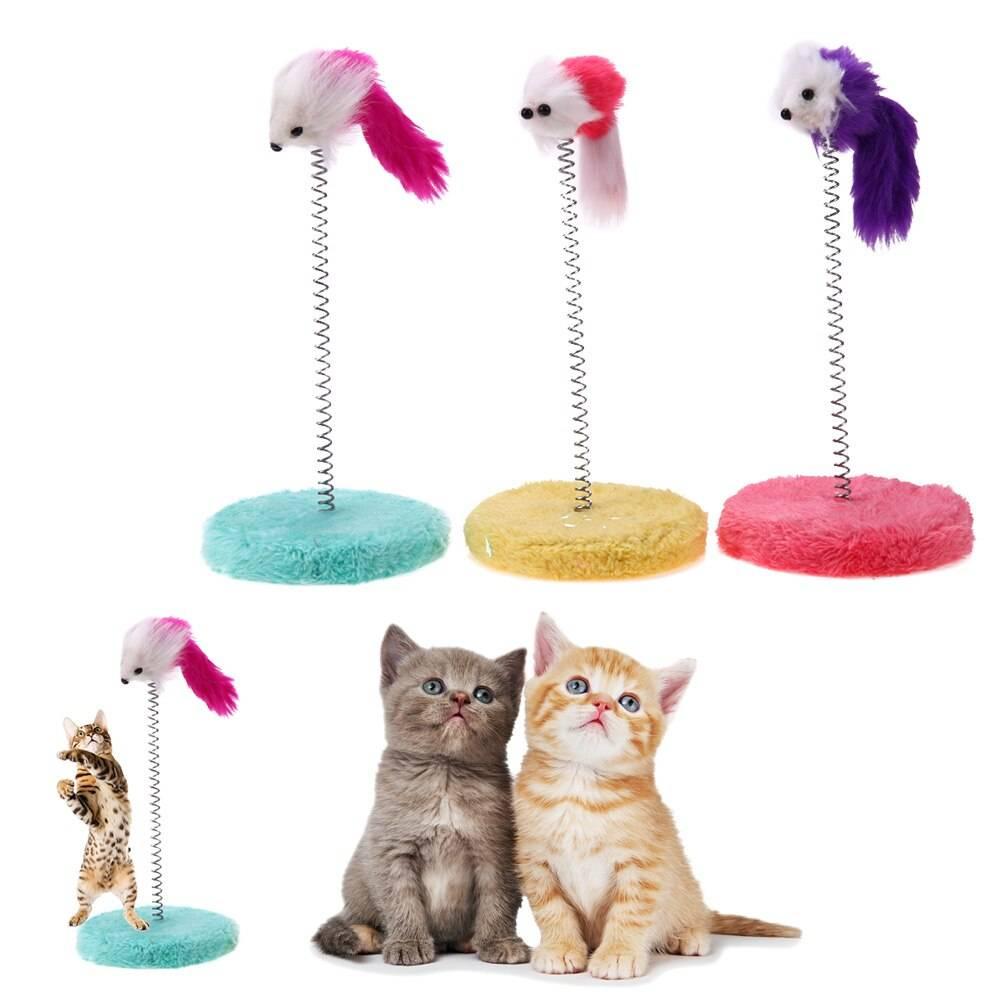 Игрушки для кошки, кота, котенка: что купить, как сделать самостоятельно