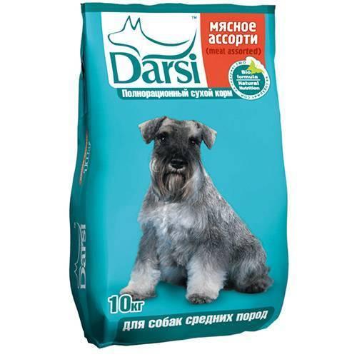 Корм для собак Дарси
