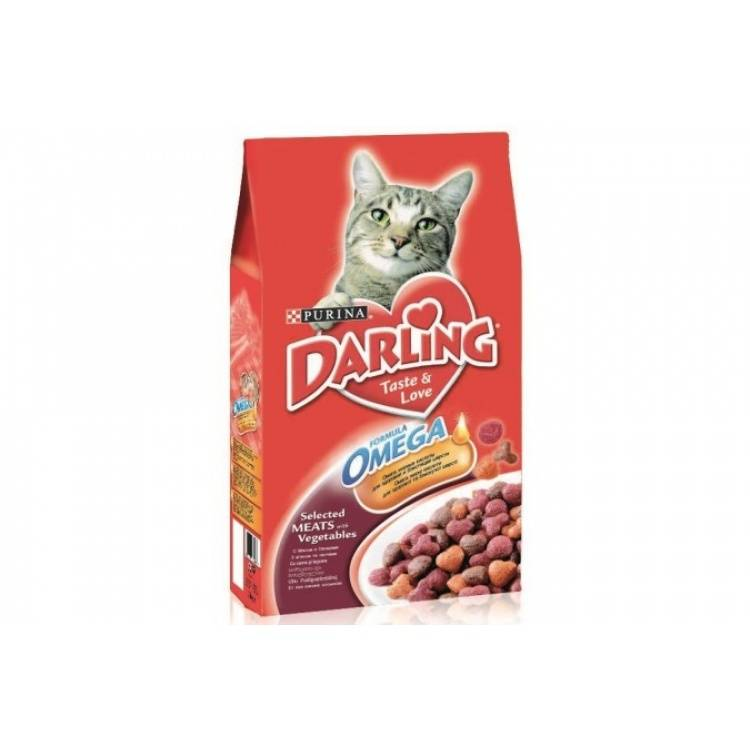 Сухой корм для кошек darling
