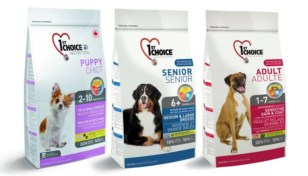 Корм для собак 1st choice: отзывы, разбор состава, цена - петобзор