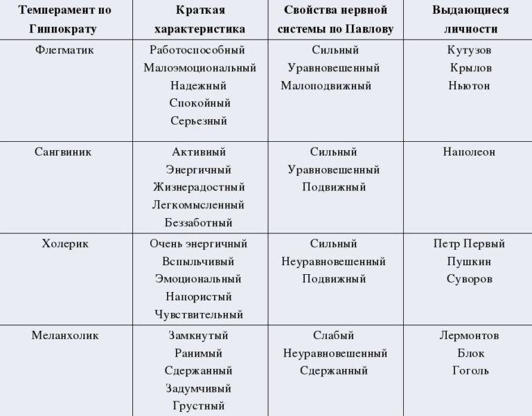 Сангвиник: тип темперамента, описание и характеристика сангивиника