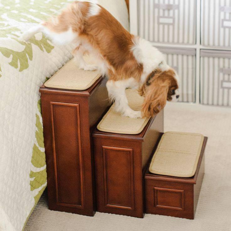 Ступеньки (лестница) для собак - отличное средство для улучшения жизни вашего любимца