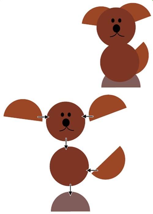 Поделка собаки из бумаги своими руками: топ 6 идей пошагово
