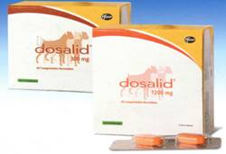 Zoetis (pfizer) досалид таблетки для собак средних и крупных пород