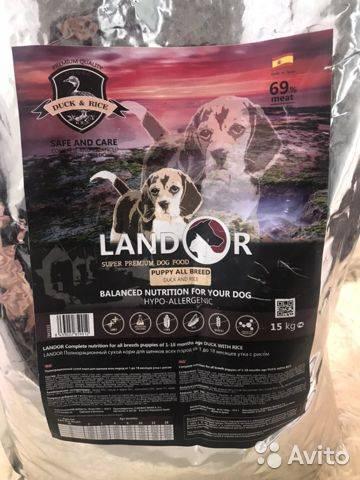 Корм для кошек landor: отзывы, разбор состава, цена