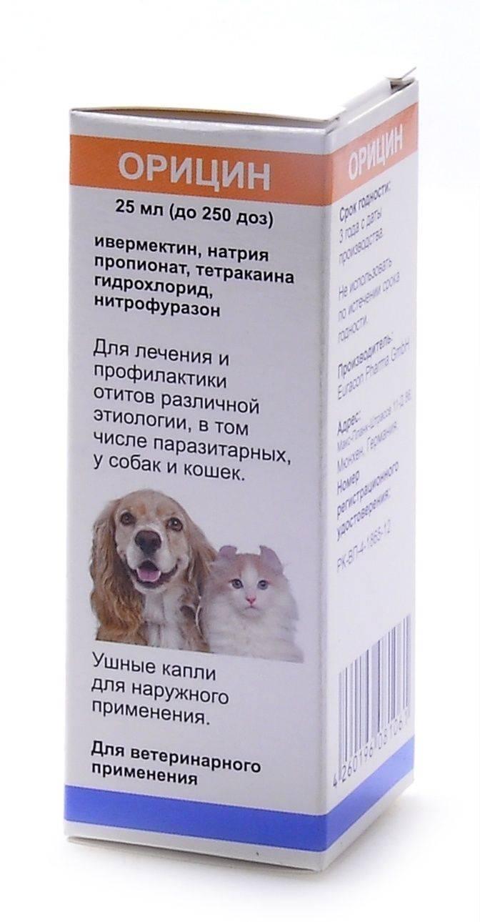 Как капли отидез для собак лечат отит