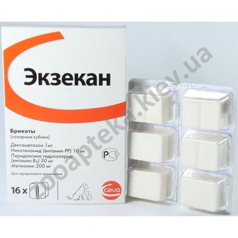 Экзекан, сахарные кубики против аллергии