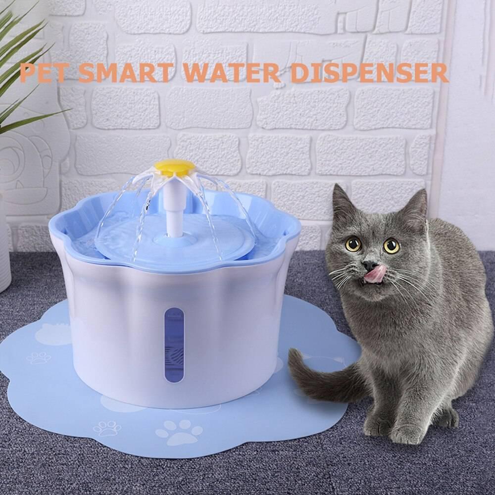 Автоматические поилки для кошек - купить, сделать своими руками, отзывы