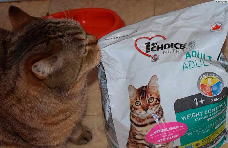 Корм фитмин (fitmin) для кошек