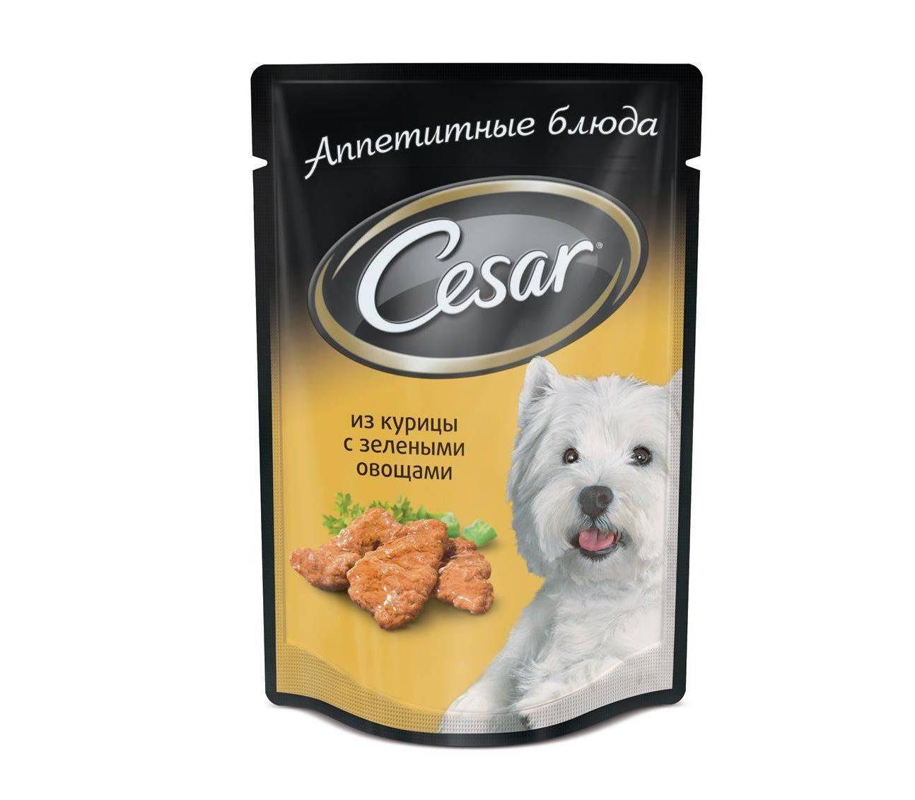 Цезарь — собачий корм супер-премиум класса