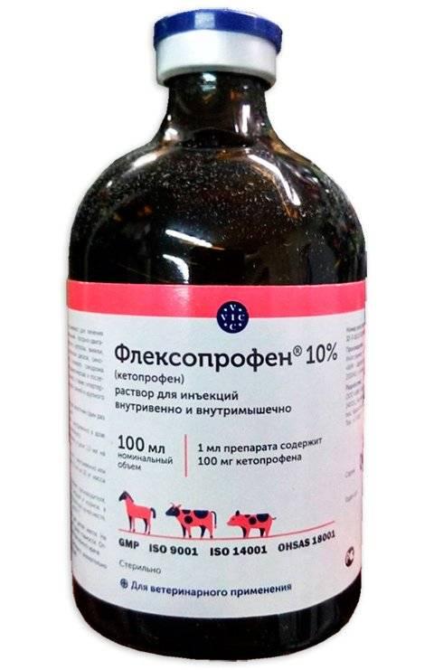 Флексопрофен для кошек