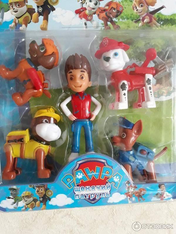 Щенячий патруль: полная информация об игрушках