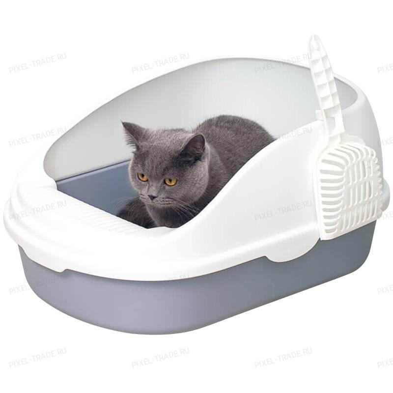 Лотки с высокими бортами для кошек