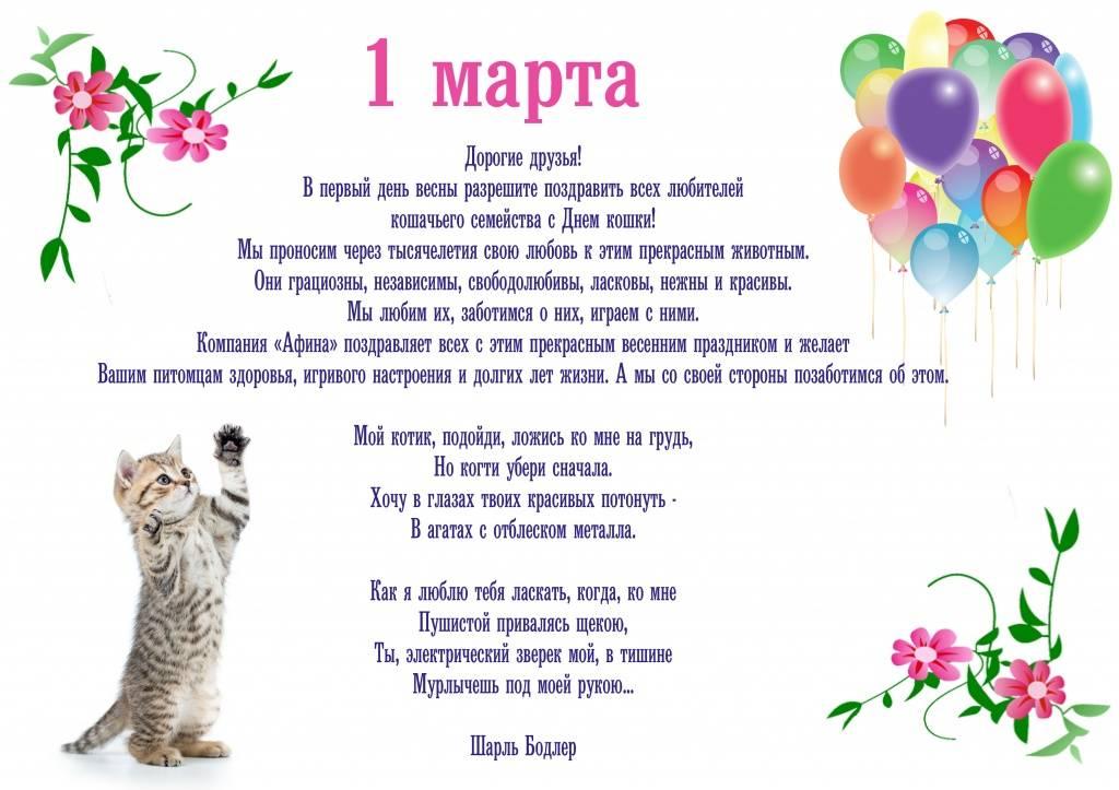 1 марта – день кошек в россии. история праздника, интересные факты о кошках   местное время - новости рубцовска и алтайского края