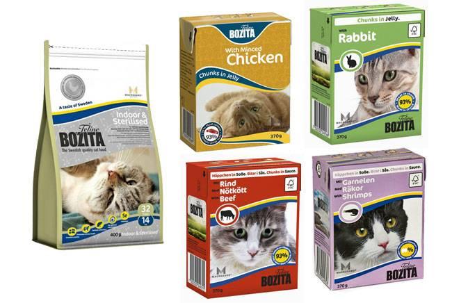 Корм бозита для кошек | состав корма bozita, виды, отзывы ветеринаров и покупателей
