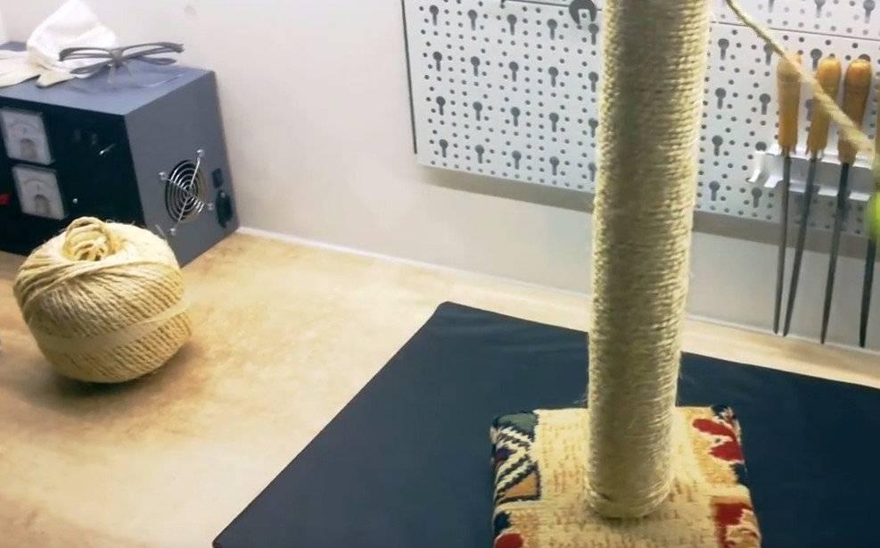 Когтеточка своими руками — простая инструкция как сделать качественную самодельную когтеточку для питомцев