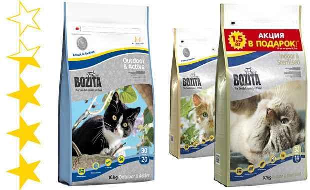 Бозита корм для кошек: состав, влажный и сухой корм, отзывы ветеринаров