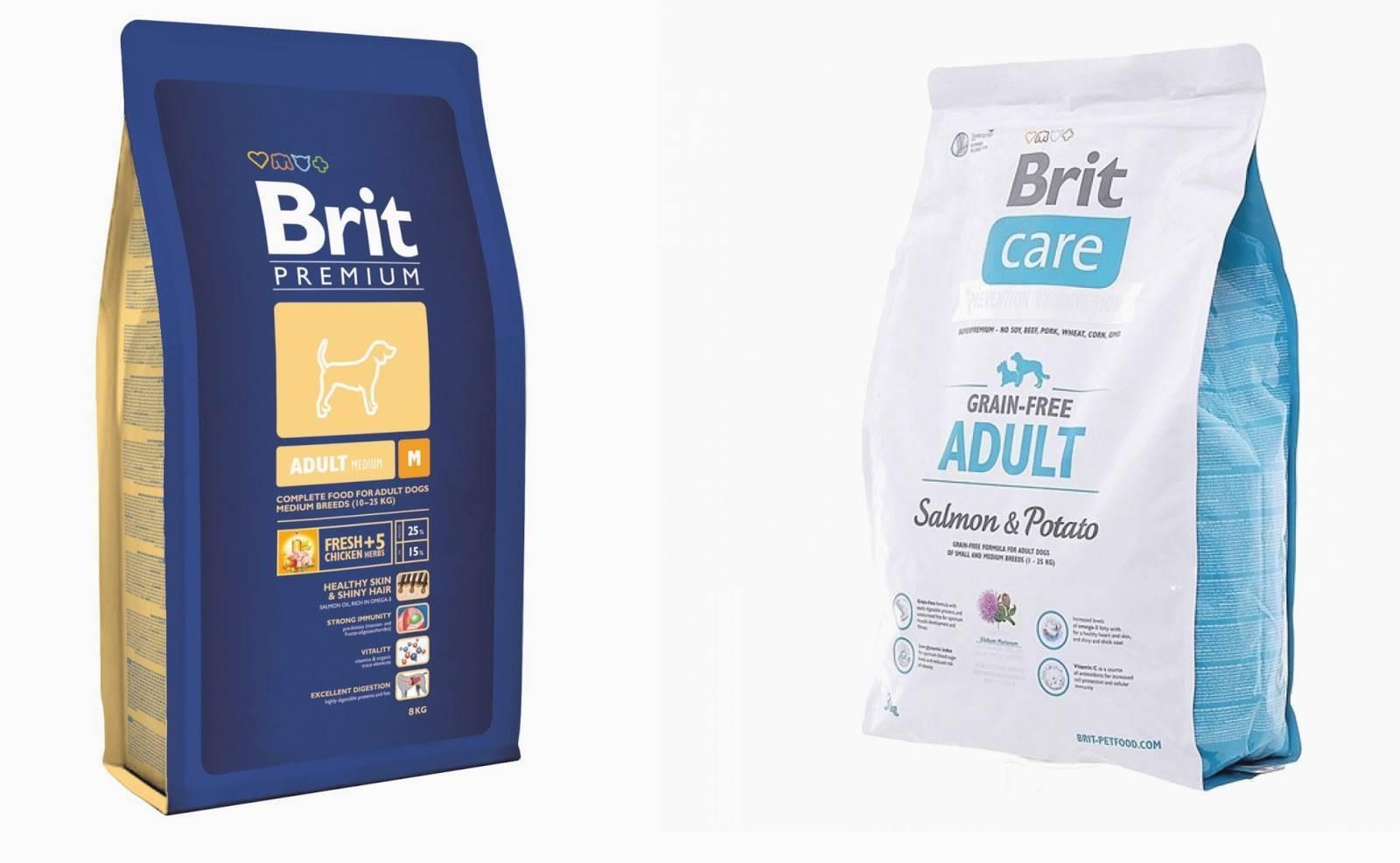 Корм для собак brit premium: отзывы и обзор состава   «дай лапу»